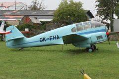 Aero 45 OK-FHA, Letecké muzeum v Kunovicích, Czechia