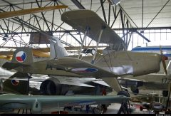 Aero C.104A Jungmann OK-AQO Czechoslovakian Air Force, Letecké muzeum Kbely, Czechia