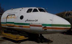 Antonov An-24 Balkan Bulgarian Airlines, Aviation Expo, Burgas Airport, Bulgaria