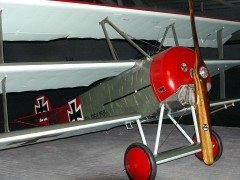 Fokker Dr.1 152/17 German Air Force