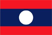 Laos flag/roundel