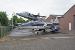 Lockheed F-104G Starfighter D-8212 Royal Netherlands Air Force, P.s. Aero B.V. Baarlo