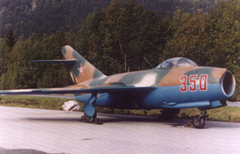 Mikoyan Gurevich MiG-15bis 350