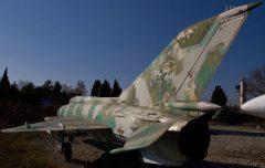 Mikoyan-Gurevich MiG-21PFM 39 Bulgarian Air Force, Aviation Expo, Burgas Airport, Bulgaria