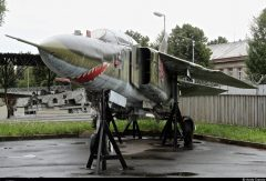 Mikoyan-Gurevich MiG-23UB 7905 Czech Air Force, Letecké muzeum Kbely, Czechia