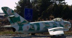 Mikoyan-Gurevich Mig-17F 62 Bulgarian Air Force, Aviation Expo, Burgas Airport, Bulgaria