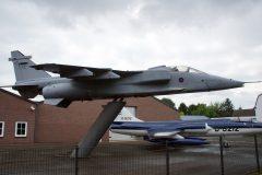 SEPECAT Jaguar GR.3A XX974/FE RAF, P.s. Aero B.V. Baarlo