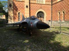 Saab 35 O Draken 13 Austrian Air Force Heeresgeschichtliches Museum Vienna, Austria