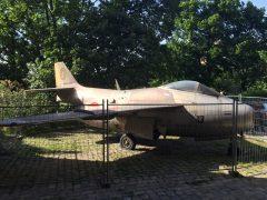 Saab J29F Tunnan 29566 O Austrian Air Force Heeresgeschichtliches Museum Vienna, Austria