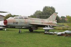 Sukhoi Su-7UB 0510 Czechoslovakian Air Force, Letecké muzeum v Kunovicích