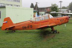 Zlin Z-326 Trener Master OK-IFD, Letecké muzeum v Kunovicích