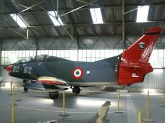 98+58 Fiat G91T/3 former Luftwaffe Gina, here in AMI MM6362 60-62, Musée Européen de l'Aviation de Chasse Montelimar