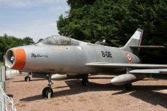 AM Dassault Mystère IVA ALA 8-QE cn 37 Musee Chateau Savigny-lès-Beaune