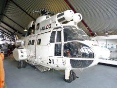 Aerospatiale SA330J Puma D-HAXU Helog, Hubschraubermuseum, Buckeburg
