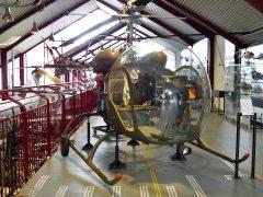 Bell OH-13H Sioux 58-5348 US Army, Hubschraubermuseum, Buckeburg