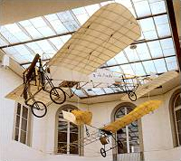 Bleriot XI 1909 and Grade Eindecker