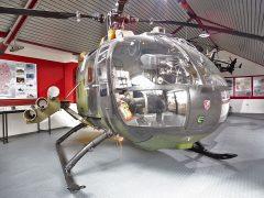 Bolkow 105P 87+75 German Army, Hubschraubermuseum, Buckeburg