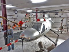 Bolkow 46 V1 D-9514, Hubschraubermuseum, Buckeburg