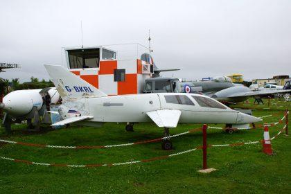 Chichester-Miles Leopard G-BKRL, Bournemouth Aviation Museum