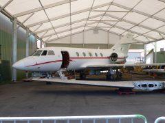 Dassault Falcon 20C 167 F-RAEB Armée de l' Air, EALC – Espaces Aéro Lyon Corbas