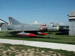 Dassault Mirage 3A 09 French Air Force, Musée Européen de l'Aviation de Chasse, Montelimar