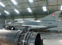 Dassault Mirage 3BS J-2001 Swiss Air Force, Musée Européen de l'Aviation de Chasse Montelimar