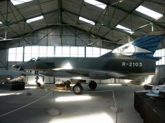 Dassault Mirage 3RS R-2103 Swiss Air Force, Musée Européen de l'Aviation de Chasse Montelimar