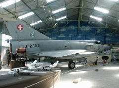 Dassault Mirage 3S J-2304 Swiss Air Force, Musée Européen de l'Aviation de Chasse Montelimar