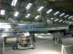 Dassault Mystere 4A 18 12-UT French Air Force, Musée Européen de l'Aviation de Chasse Montelimar