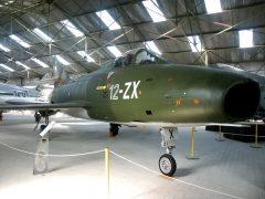 Dassault Super Mystere B2 21 12-ZX French Air Force, Musée Européen de l'Aviation de Chasse Montelimar