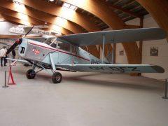 De Havilland D.H. 87B Hornet Moth OY-DEZ, Danmarks Flymuseum Stauning