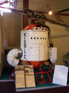 Dornier Do-32K Kiebitz Hubschrauber Museum