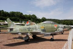 Fiat G91R/3 Luftwaffe 32+48 Musee Chateau Savigny-lès-Beaune