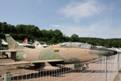 Fiat G91T/3 1801 Portugese Air Force Musee Chateau Savigny-lès-Beaune