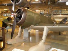 Fokker D.XXI FR-110/7 Finnish Air Force, Keski-Suomen Ilmailumuseo, Aviation Museum of Central Finland, Tikkakoski