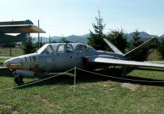 Fouga CM170 Magister 119 13-TD French air Force, Musée Européen de l'Aviation de Chasse Montelimar