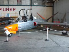 Fouga CM170 Magister 124 Armée de l' Air, EALC – Espaces Aéro Lyon Corbas