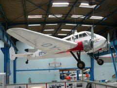 General Aircraft Ltd. ST-25 Monospar OY-DAZ, Danmarks Tekniske Museum