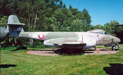 Gloster Meteor F.8 44-491 Danish Air Force