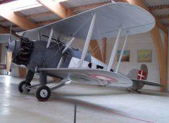 Hawker Dankok 158 Danish Air Force, Danmarks Flymuseum Stauning