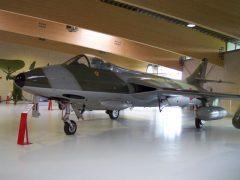 Hawker Hunter F.Mk.51 E-401 Danish Air Force, Danmarks Flymuseum Stauning