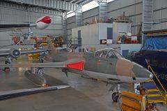 Hawker Hunter FR.74S VH-FRH 503 RAF roundel, HARS