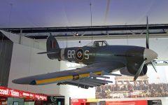 Hawker Typhoon (replica) JP656/BR-S Mémorial de Caen