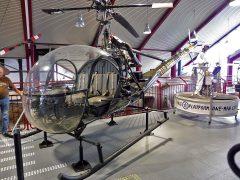 Hiller OH-23C 55-4109 US Army, Hubschraubermuseum, Buckeburg