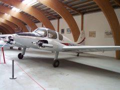 Hollsmidt 222 OY-FAI, Danmarks Flymuseum Stauning