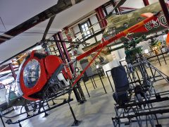 Hughes TH-55A Osage 67-16955 US Army, Hubschraubermuseum, Buckeburg