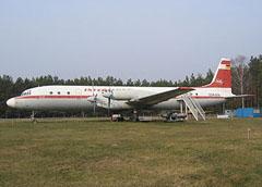 Ilyushin IL-18V DDR-STE Interflug