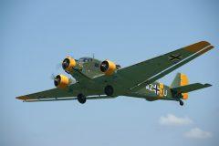 Junkers (CASA) 352L (Ju-52) F-AZJU AZ+JU Luftwaffe, Musée Volant Salis, Aérodrome de Cerny – la Ferté Alais