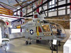 Kaman HH-43F Husky II 62-4547 USAF, Hubschraubermuseum, Buckeburg