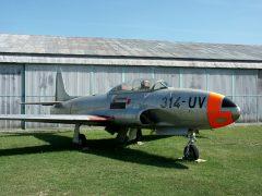 Lockheed T-33A 21113 314-UV French Air Force, Musée Européen de l'Aviation de Chasse Montelimar